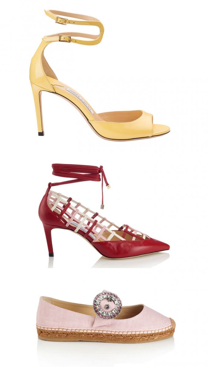 Jimmy Choo Women's Pre-fall 2018 collection