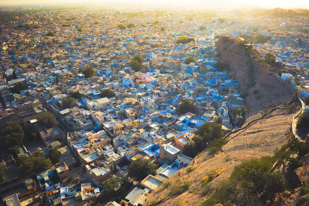 Jodhpur Rajasthan The Blue city