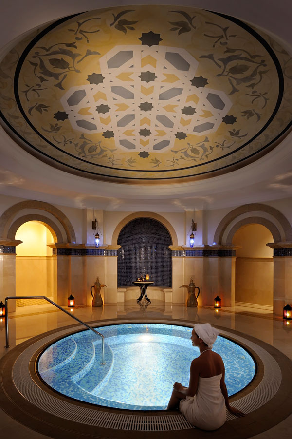 One&Only Royal Mirage Spa, Dubai, UAE, luxury spa, hammam